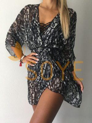 Čierna Krátka Tunika 1 |Soye Clothing