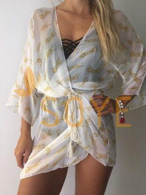 Biela Krátka Tunika 1 |Soye Clothing