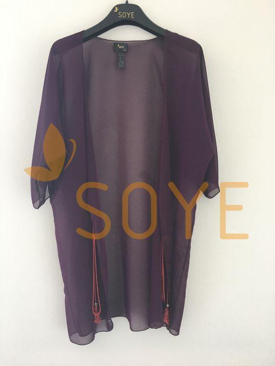 Fialová Krátka Tunika 2 |Soye Clothing
