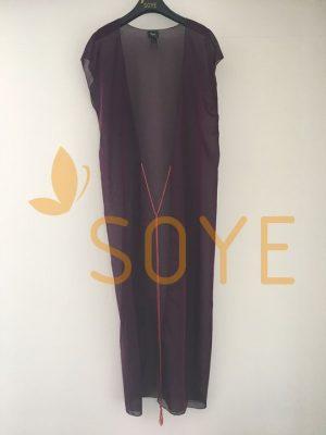 Fialová Dlhá Tunika 2 | Soye Clothing