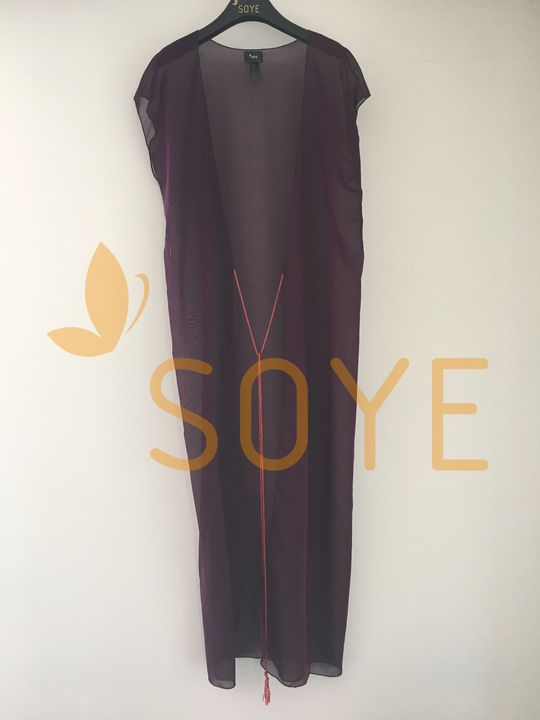 Fialová Dlhá Tunika 2   Soye Clothing