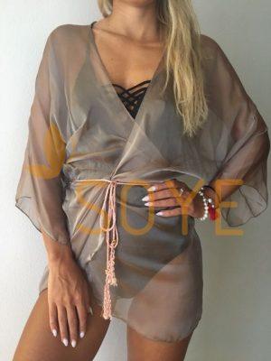 Hnedá Krátka Tunika 1 |Soye Clothing