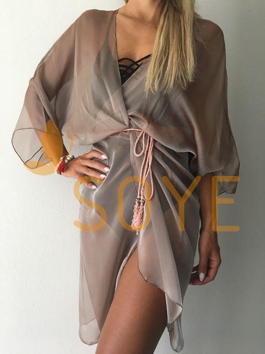 Hnedá Stredná Tunika 1 | Soye Clothing