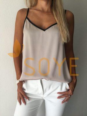 Krémové Tielko 1 |Soye Clothing