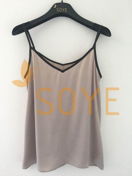Krémové tielko 2 |Soye Clothing