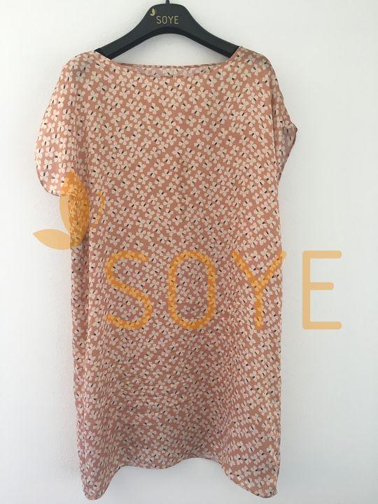 Lososové Vzorované Šaty 2 |Soye Clothing
