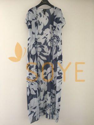 Modrá Dlhá Tunika 2 | Soye Clothing