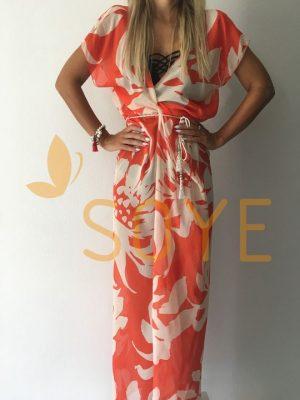 Oranžová Dlhá Tunika 1 | Soye Clothing
