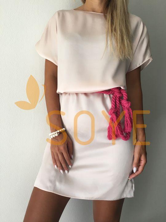 Ružové Šaty 1 |Soye Clothing