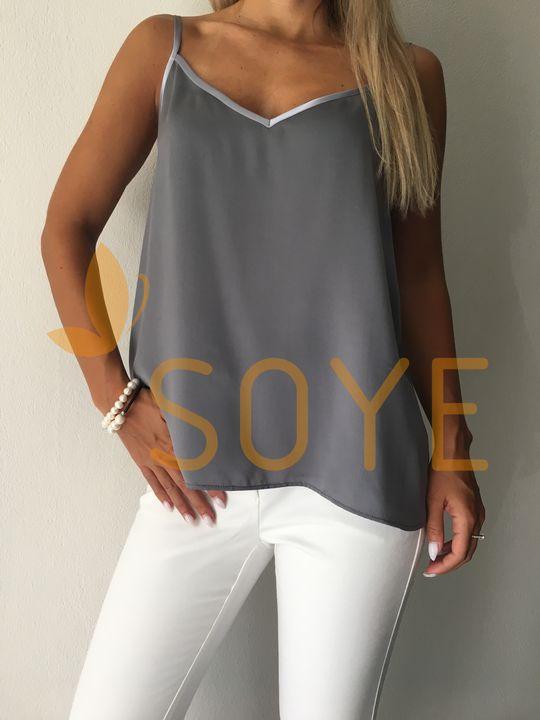 Sivé Tielko 3 |Soye Clothing