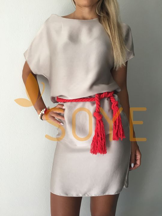 Strieborné Šaty 1 |Soye Clothing