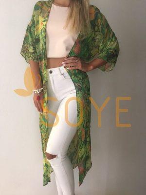 Zelené Kimono 1 |Soye Clothing