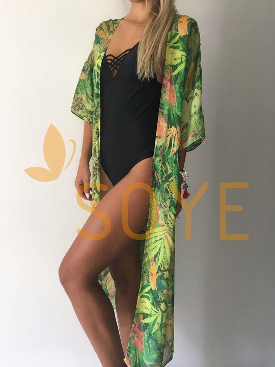Zelené Kimono 3 |Soye Clothing