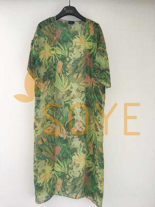 Zelené Kimono 4 |Soye Clothing